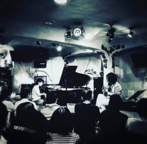 本日GUITAR X PIANO Duo LIVE です!