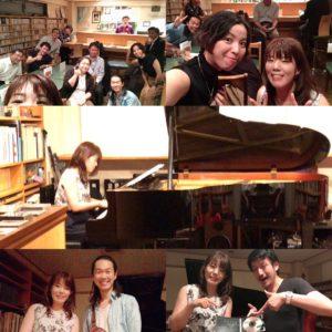ソロピアノライブ at 「In F」でした!